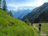 Verso il Gran Paradiso in Mountain Bike