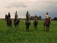 A nice ride on horseback