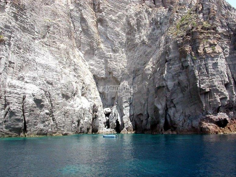 Barca a Vela Eolie