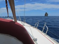 Barca a Vela nelle Eolie Cabine