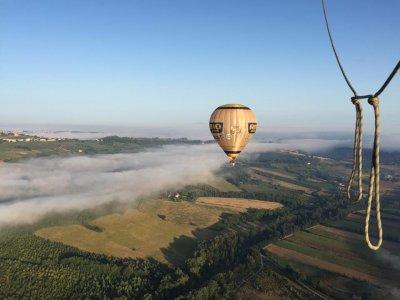 1 hour balloon flight over Siena