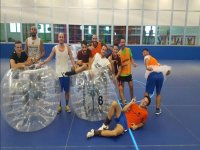 Bubble soccer time