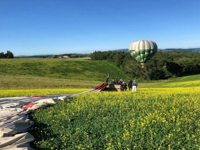 Private hot air balloon flight over Florence 1 hour