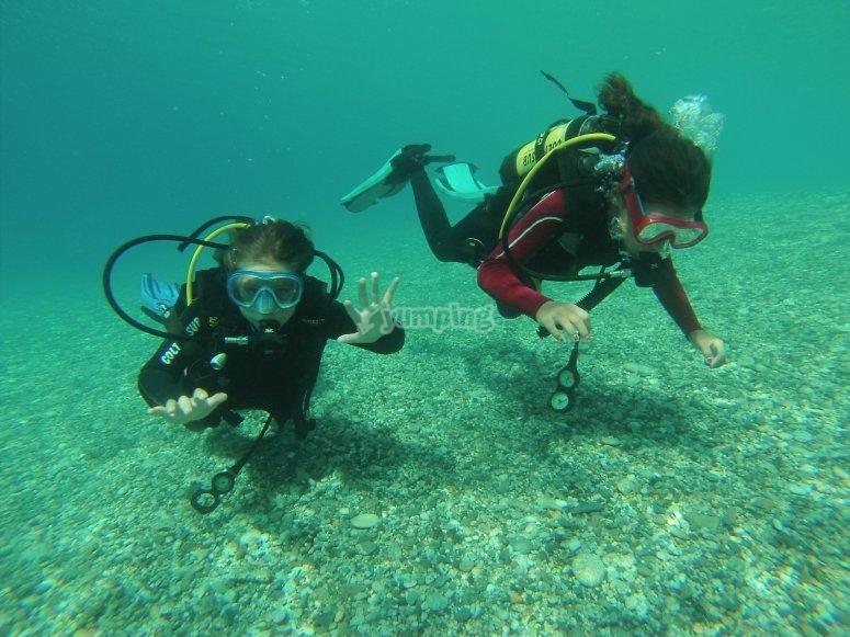 Le trasparenti acque di Marina di Gioiosa