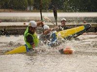 Competizione di kayak