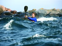 Kayak in mare