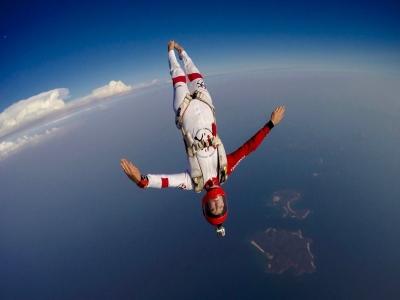 Parachute jump in Melendugno 1 hour