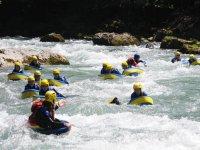 Hydrospeed sul fiume