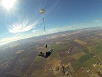 Momento di apertura del paracadute