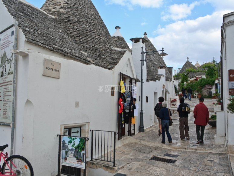 The historic center of Alberobello