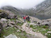 Lago sulle Alpi Cozie