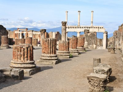 Guided tour of the ruins of ancient Pompeii 2h