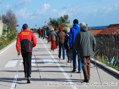 Scuola Nordic Walking Riviera dei Fiori