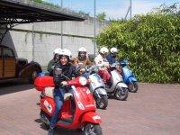 Tutti in scooter!