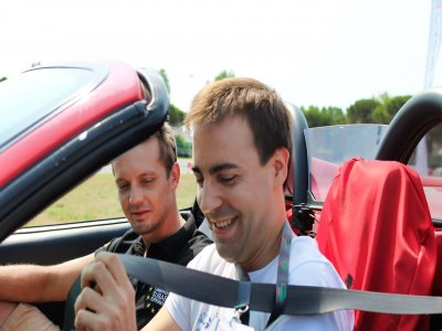 4 giri di pista con Ferrari430 Spider a Arese