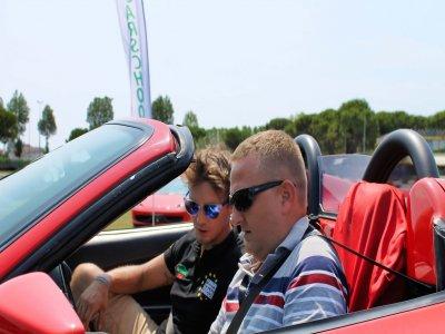 1 giro in Ferrari 488 GTB sul circuito di Busca
