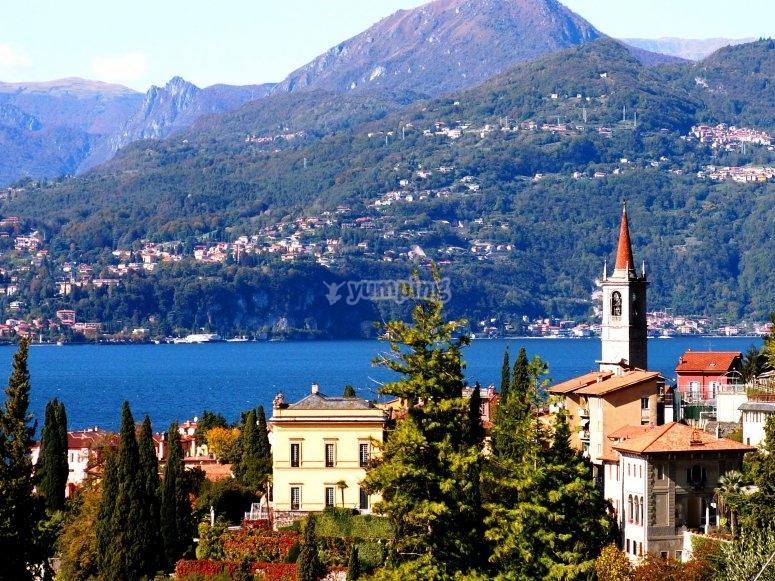 Scenery of Lake Como