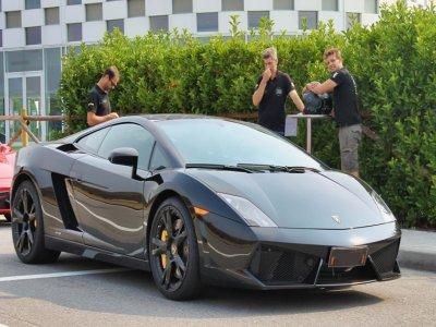 2 giri in Lamborghini Gallardo circuito di Arese