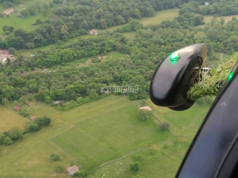 The view from the gyrocopter