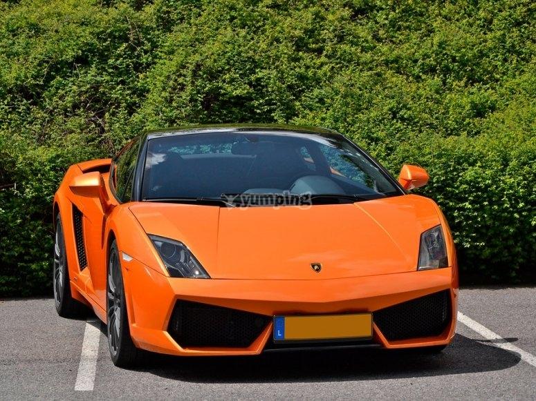 La Lamborghini Gallardo