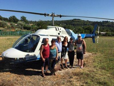Tour di lusso con elicottero su Firenze