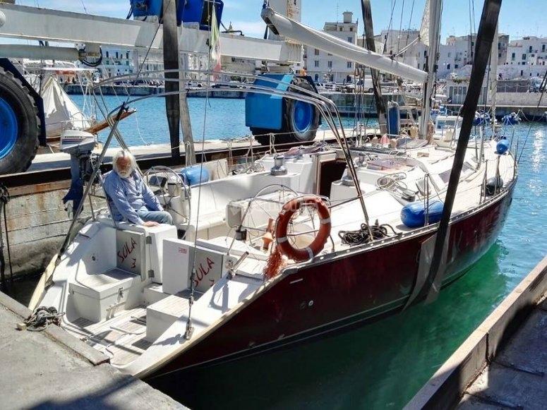 la nostra barca a vela di 16 metri