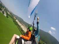 Volo in parapendio a Brescia con video di 1ora e30