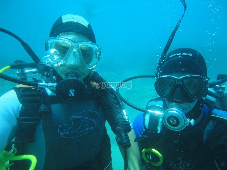 underwater emotions!