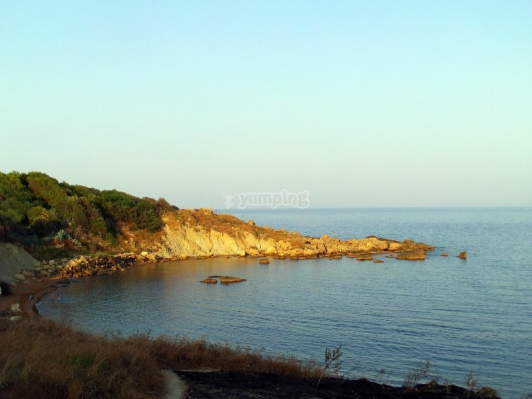 Crotone beach