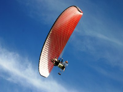 Paramotor flight on the Apulian coasts of 20 minutes