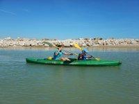 Kayak grandi e bambini