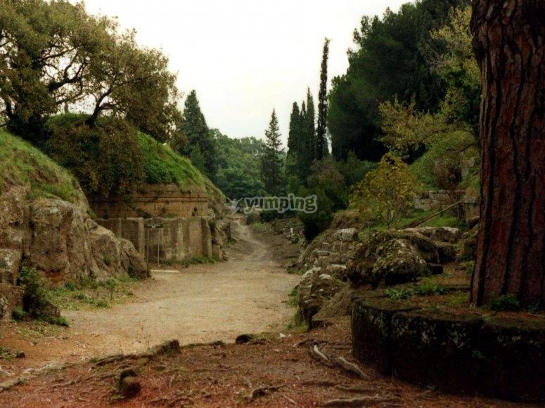 Necropolis of Banditaccia