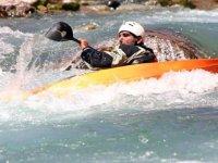 Kayak In Rapids