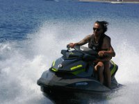 Sulla moto d'acqua