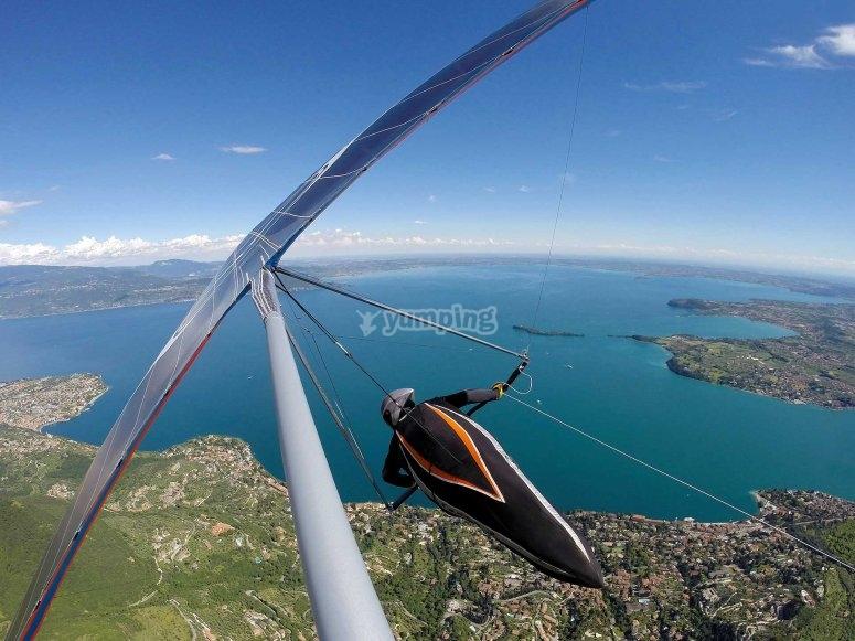 I panorami incredibiliche potrai vedere dal deltaplano