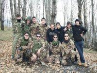 Foto di gruppo in pieno spirito di squadra
