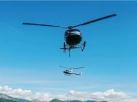 Vieni a volare sul bellissimo lago di Como