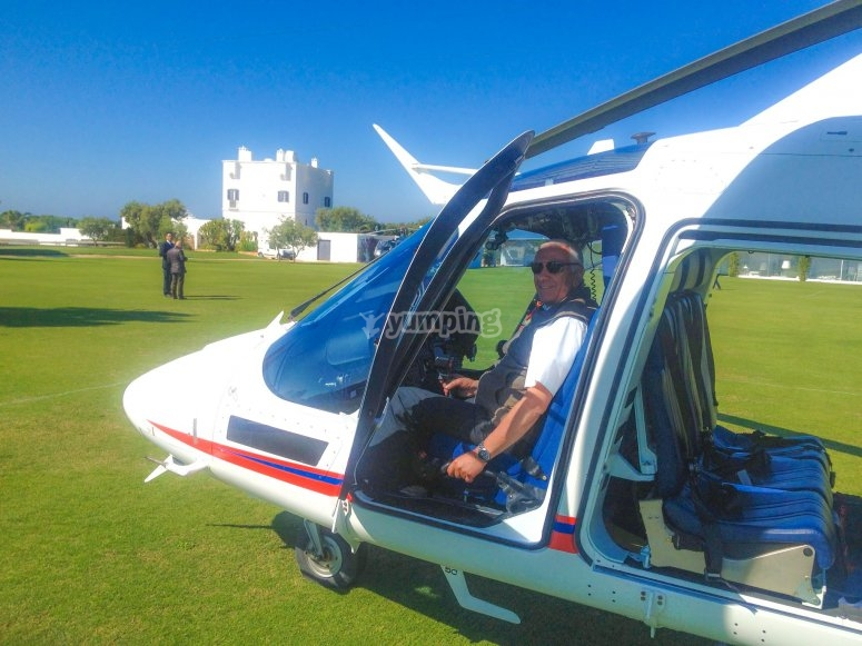 Il nostro elicottero