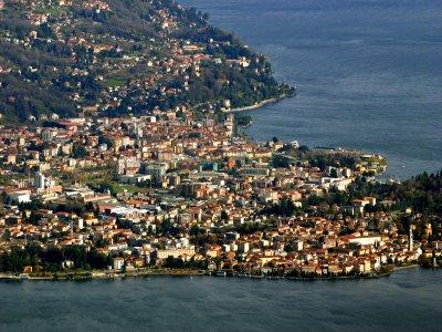 Tour elicottero collettivo Lago Maggiore 15 minuti