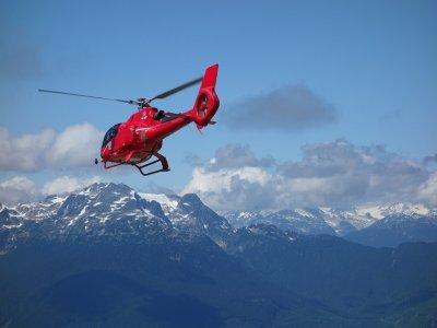 Tour esclusivo in elicottero Monte Bianco 15minuti