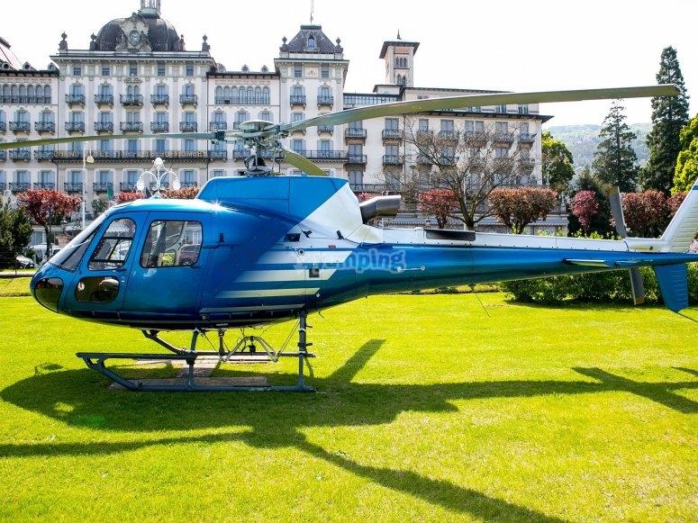 Con il nostro elicottero visiterete luoghi sensazionali