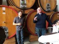 Assaggiando vini tipici dell'Etna