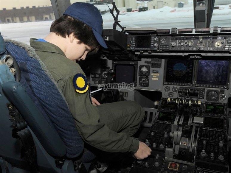 pilota per un giorno