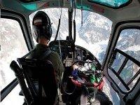 pilotando il nostro elicottero