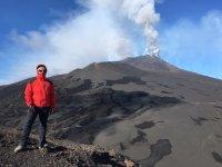 Davanti to the vulcano. Che emozione!