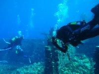 Submarine ruins