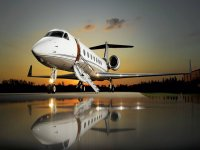Jet for international flights