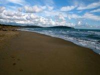 Spiagge nella zona di Orbetello