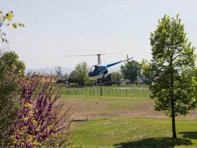 Tour in elicottero su Modena di 10 minuti