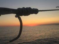 temonti in barca